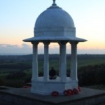 The Chattri memorial, Sussex © Copyright  Tim Concannon, Lewes, September 2013.